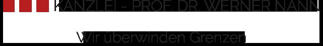 Kanzlei Nann Logo